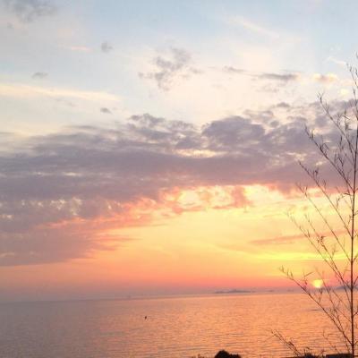 Agosta coucher de soleil