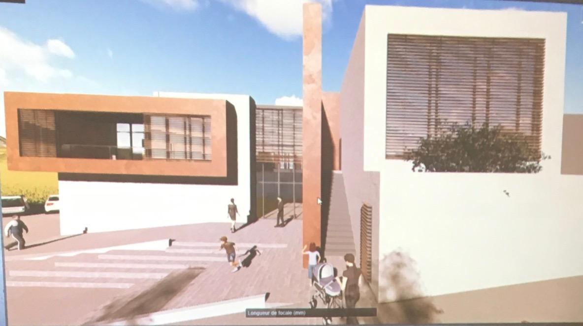 Vue de la façade