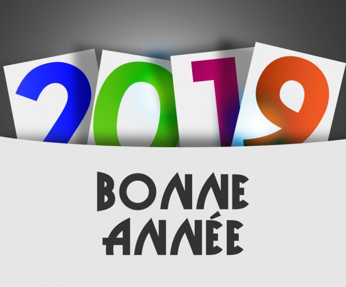 Bonne anne e 2019
